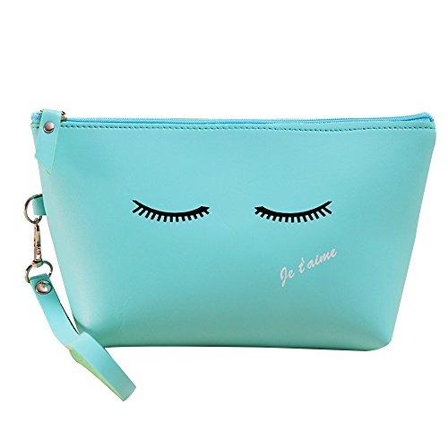 Contever® fashion pu sacchetto lavata cosmetic borsa cosmetico wash bagda toilette borsetta da viaggio per le donne la signora girl - style 3