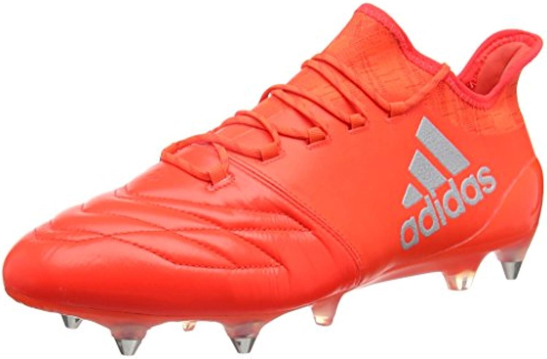 adidas X 16.1 SG Leather - Fußballstiefel - Herren, Rot, 46 2/3 -
