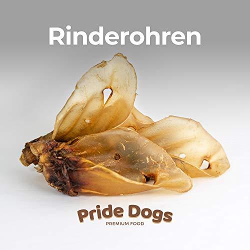 PrideDogs Rinderohren mit Muschel 5 Stück der Premium Kausnack für Ihren Hund   100{cba05ad9c85b34899c5ff88fa9210ca49492f8b4ed678b6e0c2f936bf8614bae} Rind aus Deutscher Herstellung   im geruchsneutralen Beutel   Kauartikel