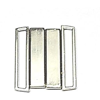 Prym 25 mm Bikini und Gürtel Schließe Loop, Metall Silber