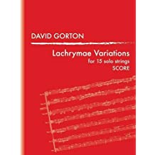 Lachrymae Variations