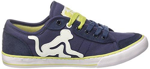 DrunknMunky New England, Chaussures de Tennis homme Blu (Navy/Olive)