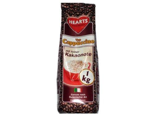 leckerer Cappuccino 10 kg (10 x 1 kg = ungefähr 800 Tassen) Cappuccino Coffee kakaohaltiges...