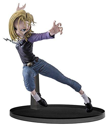 Freaks And Geeks - Figurina Dragon Ball Super Sculptures-C18 Battle Pose