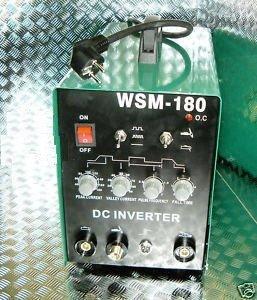 HST TIG WIG MMA WSM 180 Amp HF-Zün Schweißgerät Inverter Schweissgerät Hot Start