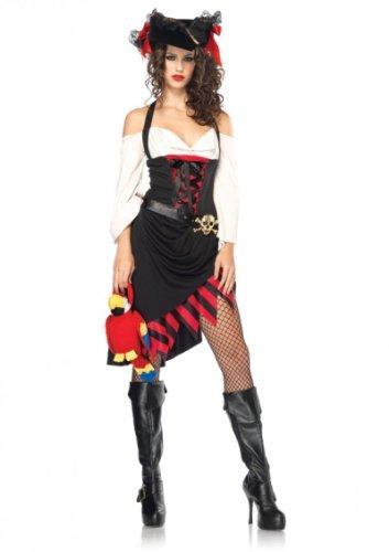 Leg Avenue Saucy Wench Freches Mädchen XL, 1 Stück (Wench Kostüm Set)