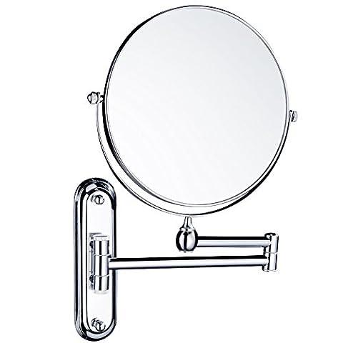 Miroir Grossissant 8 Fois - Gurun 8 Pouces Double Face Miroir Mural