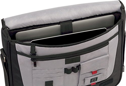 "417QpAId37L - Wenger 600665 Developer - Mochila con Compartimento Acolchado para portátiles (15.4"") Color Negro"