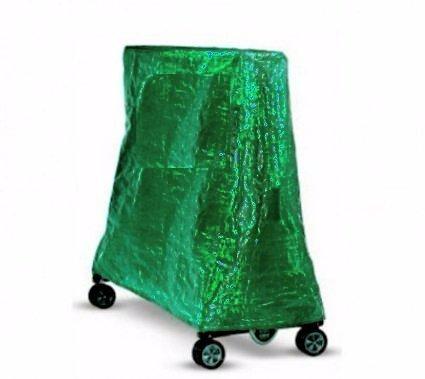 Heavy Duty Full Size pieghevole tavolo da ping pong, interni/esterni, adatta per tutte le principali marche (Cornilleau, farfalla, prugna, Kettler, Super Tramp ASDA) pieghevole tavoli da ping pong, colore: blu, Green