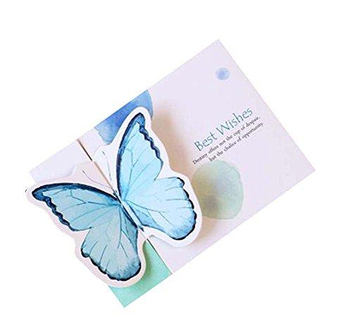 Set von 5 Geburtstag / Festival Grußkarten Schmetterlings-Karten