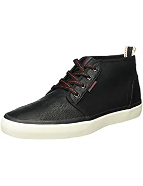 JACK & JONES Herren Jfwmajor Mixed Mid Sneaker Anthracite Sneakers