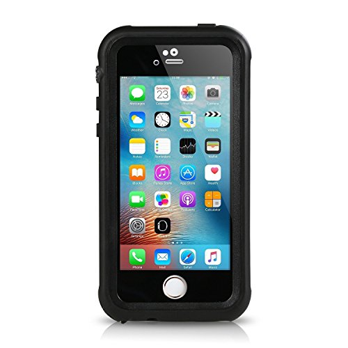 Merit wasserdichte Schutzhülle Outdoor waterproof Case, Staubdicht Stoßfest hülle Schutzhülle für Apple iPhone SE / 5 / 5S