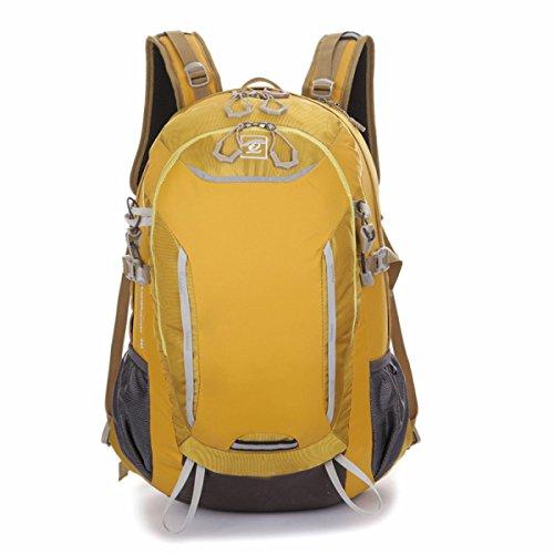 Outdoor Sport Tasche Multifunktional Wasserdicht Praktisch Rucksack Yellow