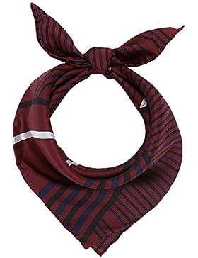 Calvin Klein Damen Schal Silk Logo Foulard Giftpack