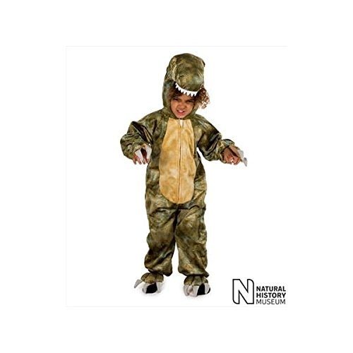 Kid Rex Kostüm T - Natural History Museum T-Rex Fancy Dress Costume (Official Licensed) - Kids Costume 5 - 7 years