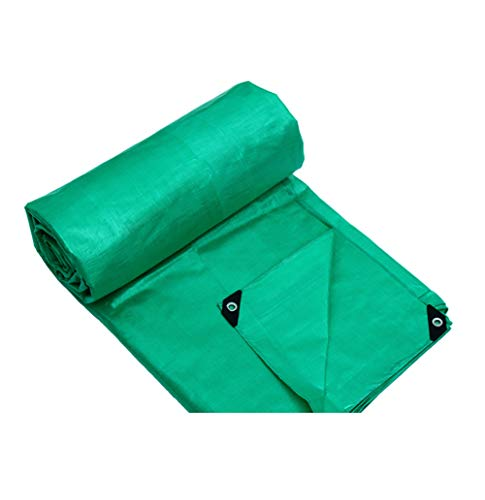 Telone telo di plastica per tende da sole telo per tende da pioggia per esterni telo di copertura per tela cerata telo per copertura in tela cerata (verde) (dimensioni : 5m×4m)