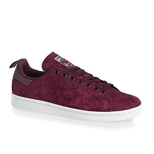 adidas-originals-trainers-adidas-originals-stan-smith-shoes-maroon-white