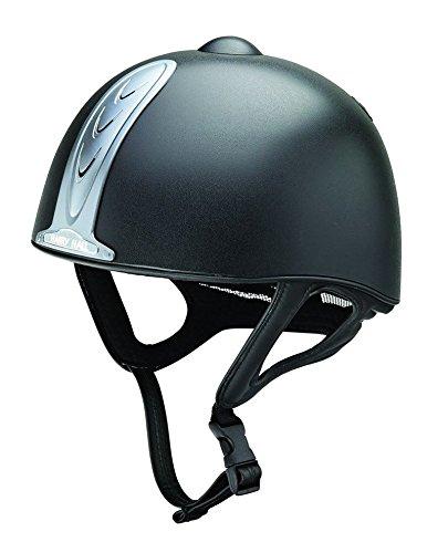 Harry Hall Reiterhelm Legend Plus Jockey Skull pas015.2011Reiten Totenkopf Hat Helm, schwarz