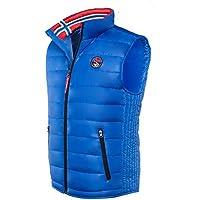 Nebulus Weste Glossar - Chaleco de esquí para hombre, color cobalto, talla XL