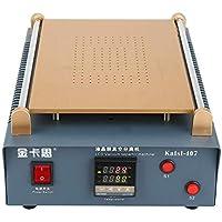 220V 14 Pulgada Doble Bomba de Aire de Vacío Máquina Separadora de Pantalla LCD Máquina para Separar Pantallas para Reparación de División de Pantallas de Móvil Tableta