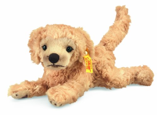 Steiff 280375 - Lumpi Golden Retriever Welpe, 22 cm, blond