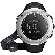 Suunto Ambit2 S Graphite (HR) - Reloj con GPS integrado unisex, color plateado/negro