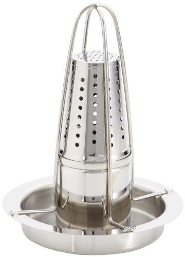 417QvN2g fL - Küchenprofi 10 3801 28 00 Hähnchengriller BBQ Advantage mit Aromabehälter