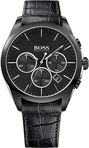 Boss Onyx 1513367 Sportliche Herrenuhr Bi-Color Gehäuse