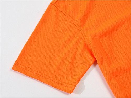 MTTROLI Herren T-Shirt Orange