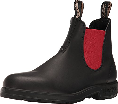 Blundstone Beatles 0508 Leather Black red (Männer Beatle Boots)
