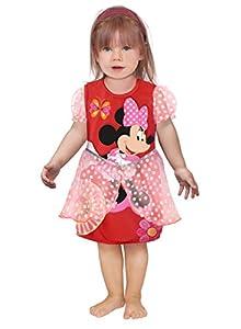 Ciao 11249.12-18 - Vestido de princesas Disney para bebé Minnie clásica 18-24 mesi rojo