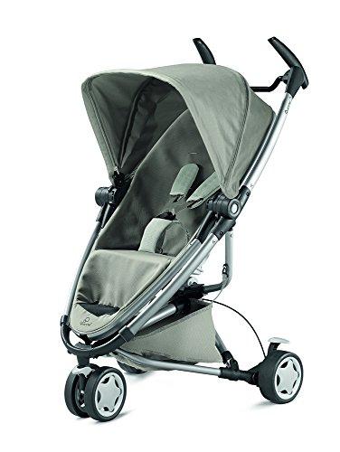 Quinny Zapp Xtra 2 Buggy mit viel Zubehör - sehr klein zusammenfaltbar, leicht und komfortabel, grau  [Auslaufmodell] (System Baby Travel)