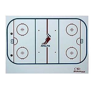 Sidelines Taktiktafel Eishockey, Taktische Trainertafel Klippboard