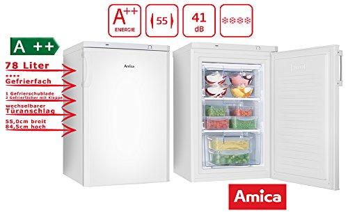 Amica GS 15198 W Gefriergerät/A++ / 80 liters