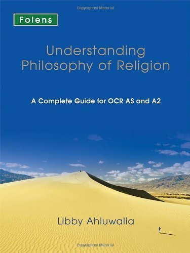 Understanding Philosophy of Religion for AS & A2 (OCR) - Textbook (A Level RE) by Libby Ahluwalia (1-Jun-2008) Paperback