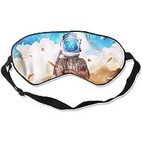 Eye Mask Eyeshade Astronaut Helmet Sleeping Mask Blindfold Eyepatch Adjustable Head Strap preisvergleich bei billige-tabletten.eu