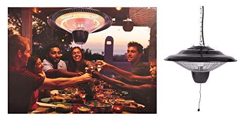 Dahlmann Home / EB Heizstrahler Decke 1500W 42x42x24cm Terrassenstrahler Wärmestrahler In-/Outdoor