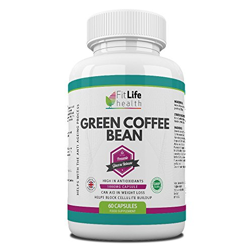 GREEN COFFEE BEAN EXTRACT Diet Pills by Fit Life Health – Fights The Signs Of Ageing...