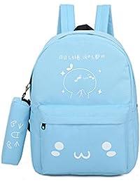 Girl 's Cute Verteilen Comic Taschen Casual Leinwand gedruckt Schule Rucksäcke preisvergleich bei kinderzimmerdekopreise.eu