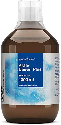 effective nature Aktiv Basen Plus Konzentrat - Sehr hoher pH-Wert (11,4) - 1000ml