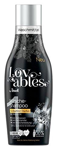Lovables Seductive Darks Wäsche-Shampoo, Waschmittel, mit Micro-Oil, 5er Pack (5 x 17 Waschladungen)