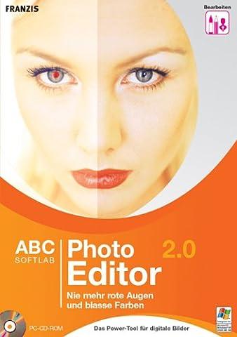 Photo Editor 2.0, 1 CD-ROM Nie mehr rote Augen und blasse Farben. Für Windows 98 SE/ME/2000/XP