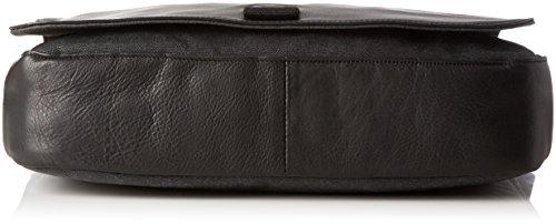 BREE Unisex-Erwachsene Punch Casual 49 Laptop Tasche, 28x8x38 cm Mehrfarbig (anthra/Black)