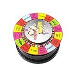 NUOBESTY Giradischi Elettrici Giochi Divertenti Giochi per Bere Bar Forniture per L'intrattenimento per Adulti Giochi di Società Notturni (Rosso)