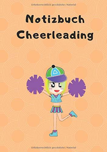 Notizbuch Cheerleading: 120 Seiten | Liniert | DIN A5 | Geschenkidee por Notizbuch Cheerleading