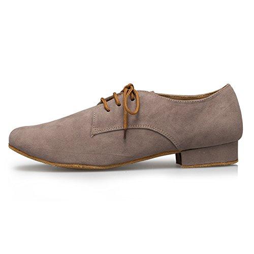 Miyoopark ,  Herren Tanzschuhe , Braun - Brown-2.5cm heel - Größe: 44 - 2