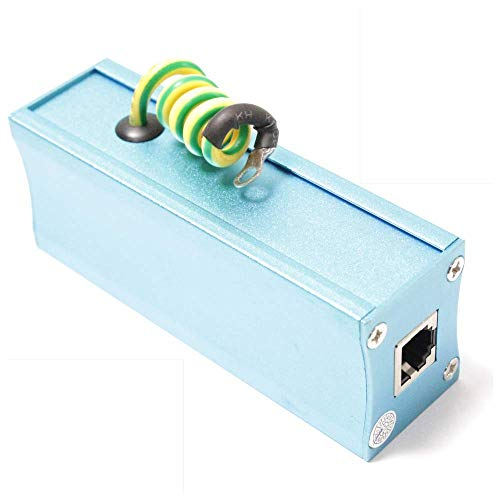 BeMatik - Überspannungsschutz RJ11 RJ12 Telefon 10KA 110V 1-Port-2-Pin-
