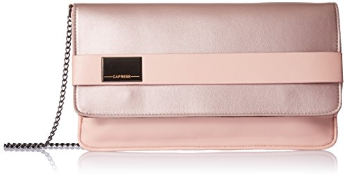 Caprese Maurine Women's Clutch (Metallic Blush)  available at amazon for Rs.1199