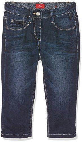 s.Oliver Mädchen Jeans Caprihose, Blau (Blue Denim Stretch 57Z7), 170 (Herstellergröße: 170/BIG)