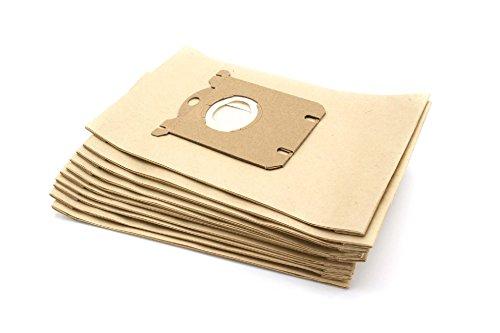 vhbw 10 Beutel Papier für Staubsauger Saugroboter Mehrzwecksauger Privileg/Quelle 356 887/356887,...